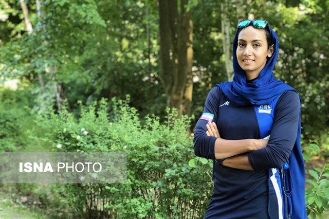 قایقرانی انتخابی المپیک/ هدیه کاظمی راهی فینال کایاک یک نفره شد