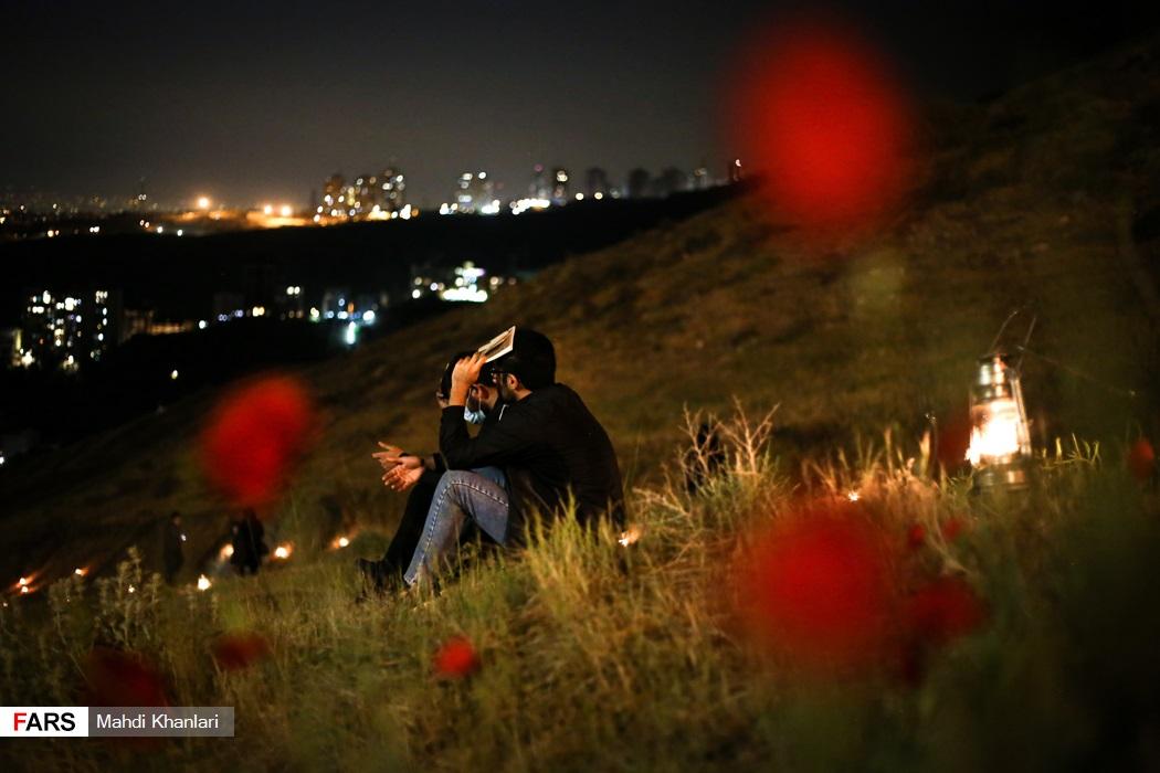احیای شب بیستویکم کهف الشهداء