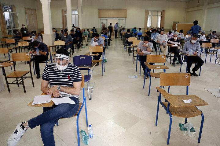 موضع وزارت بهداشت برای برگزاری کنکور ۱۴۰۰