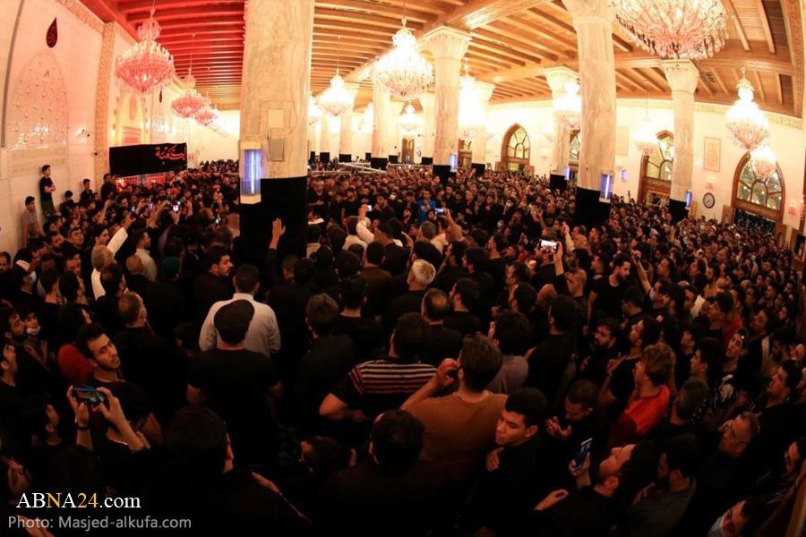 مراسم عزاداری شهادت امام علی(ع) در مسجد کوفه