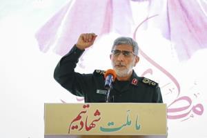 سردار قاآنی: نیروی قدس الگوی مجاهدان و علاقمندان به فرهنگ مقاومت است