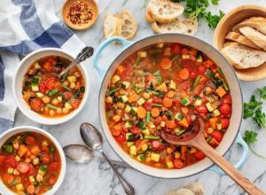 آموزش پخت سوپی خوشمزه برای ماه رمضان