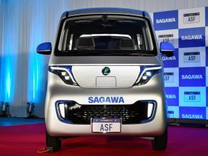 ساگاوا، خودرو کوچک مکعبی ژاپنی مخصوص شهرهای شلوغ