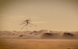 بالگرد نبوغ برای پروازهای بیبازگشت در مریخ آماده میشود