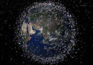 اولین تلسکوپی که زبالههای فضایی بسیار کوچک را نشان میدهد
