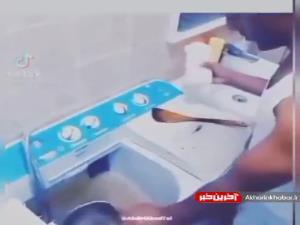 ماشین ظرفشویی دانشجویی