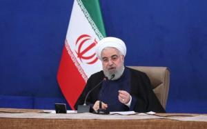 روحانی: به عنوان رئیس دولت اعلام میکنم که تحریم شکسته شده است