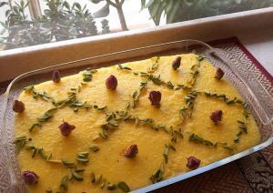 طرز تهیه دسر محبوب مشهدی ها برای افطار