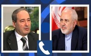 تاکید ظریف بر مشروعیت برگزاری انتخابات ریاست جمهوری در سوریه