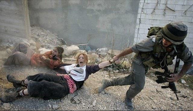 عکس/ قابهایی از حقوق بشر صهیونیستی!