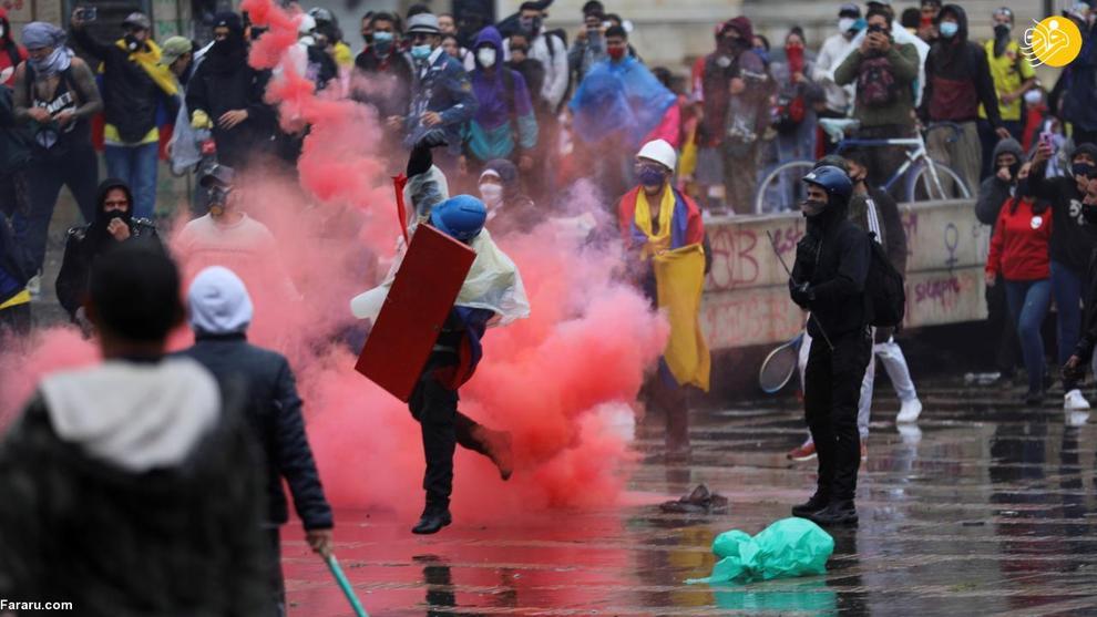 اعتراضهای خونین در کلمبیا