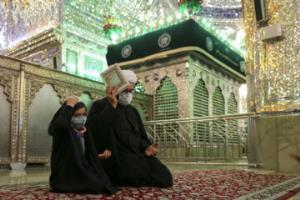 شب ۲۳ رمضان در حرم مطهر شاهچراغ(ع)