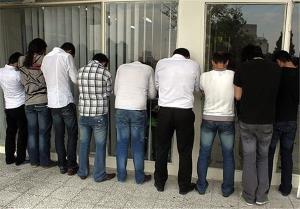 دستگیری ۱۶ شرکت کننده پارتی مختلط در شب 21 رمضان