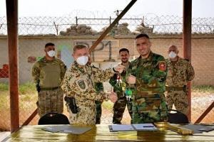 ارتش افغانستان یک پایگاه نظامی دیگر را از ناتو تحویل گرفت