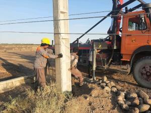 قطعی برق در چند روستای دلگان به ۲۴ ساعت رسید