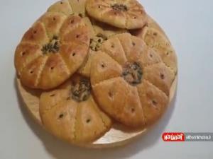 طرز تهیه نان بادام ترد و خوشمزه سالم و مقوی