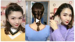 ایده های ساده و زیبا برای بستن موها