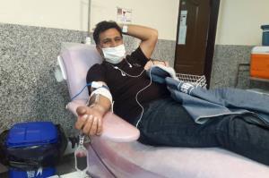 اهدای خون ۳۸۰ نفر طی شبهای قدر در خراسان جنوبی