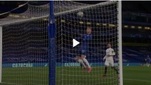 گل اول چلسی به رئال مادرید با ضربه سر ورنر