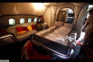 پرواز هواپیمای اختصاصی قذافی بعد از هفت سال به فرانسه