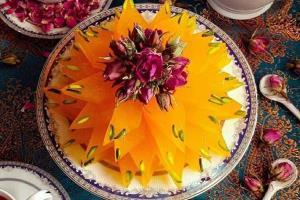 افطاری بپزیم؛ مسقطی زعفرانی خوشمزه و کشدار برای ماه رمضان