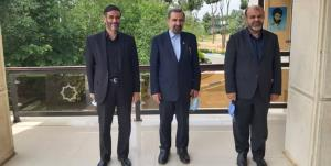 دیدار انتخاباتی محسن رضایی، رستم قاسمی و سعید محمد