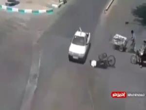 ترمز دردسرساز برای دوچرخه سوار در خیابان