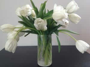 دیزاین گلدان با چسب حرارتی