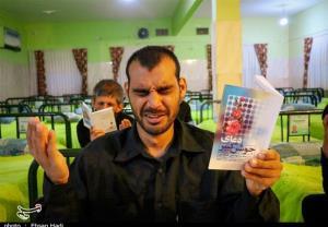 احیای شب قدر در آسایشگاه معلولان ذهنی شهید بهشتی مشهد