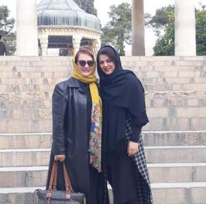 چهره ها/ مریم امیرجلالی و رفیق شیرازی اش