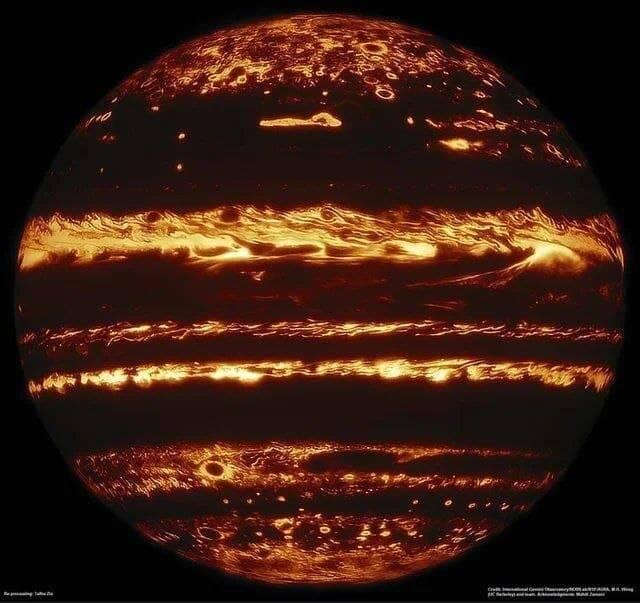 تصویری بینظیر از سیاره مشتری