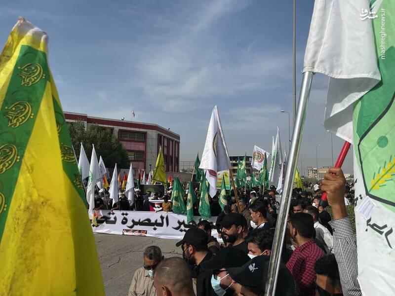 تجمع روز قدس در بصره عراق