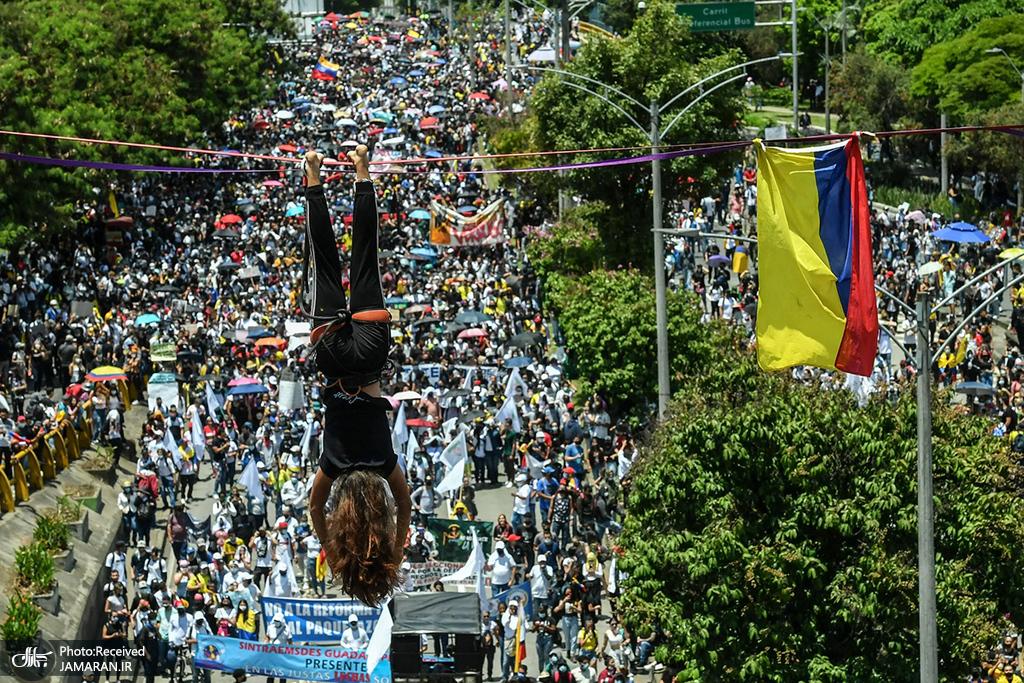 اعتراضات ضد دولتی در مدلین، کلمبیا