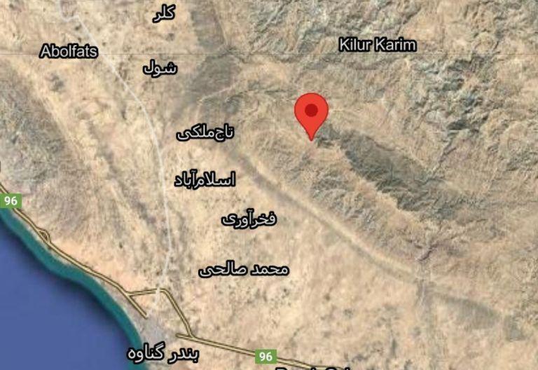 فرماندار گناوه: زلزله امروز خسارتی دربر نداشت