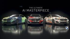 خلق جدیدترین خودروهای هنری بامو با هوش مصنوعی
