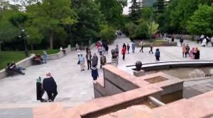 کرونا از پارکهای تهران رفته است؟!