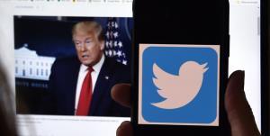 توئیتر از خجالت ترامپ درآمد
