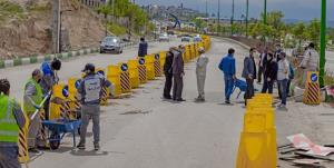 عملیات عمرانی پروژه تقاطع غیرهمسطح نیایش در اردبیل آغاز شد