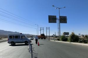 تردد در مسیر کوهستانی دره مرادبیگ همدان ممنوع است