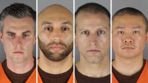 افسران پرونده جورج فلوید متهم شناخته شدند