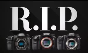 سونی سرانجام تولید آخرین دوربینهای DSLR خود را متوقف کرد