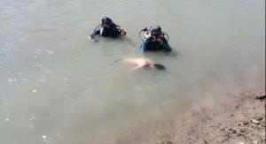 مرگ تلخ پدر و پسر در رودخانه