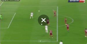 گل سوم آاس رم به منچستریونایتد توسط زالوسکی