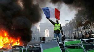 تظاهرات و نمایش خشم جلیقه زردها