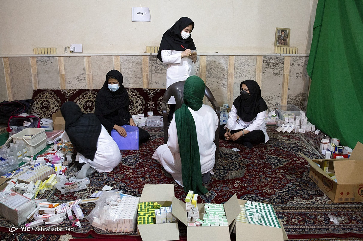 پویش همسُفره در یکی از مناطق محروم حومه تهران