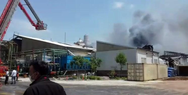 آتشسوزی در شهرک لیا تحت کنترل است