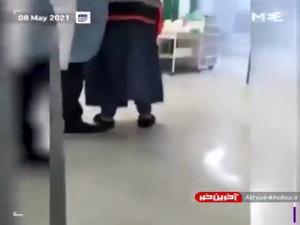 فیلم حمله نظامیان صهیونیست به یک مرکز درمانی در قدس