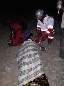 نجات ۵ کوهنورد سرگردان در منطقه کوهستانی شال سفید خمینیشهر