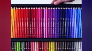 مراحل جالب ساخت مداد رنگی