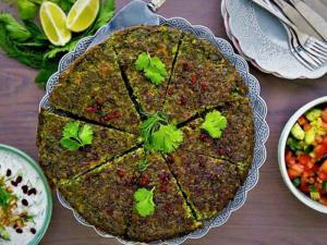 رازهای تهیه کوکو سبزی خوش عطر بهاری